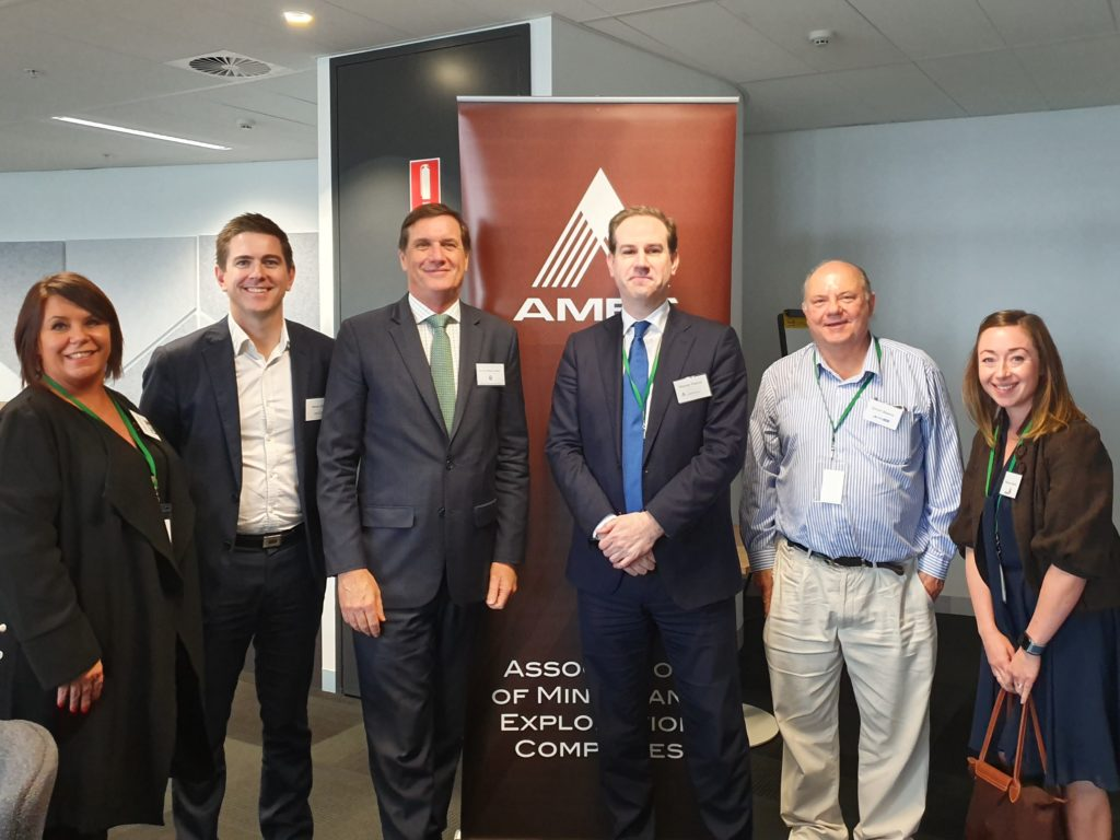 The Honorable Anthony Lynham, Queensland Minister for Natural Resources, Mines and Environment meets with AMEC.