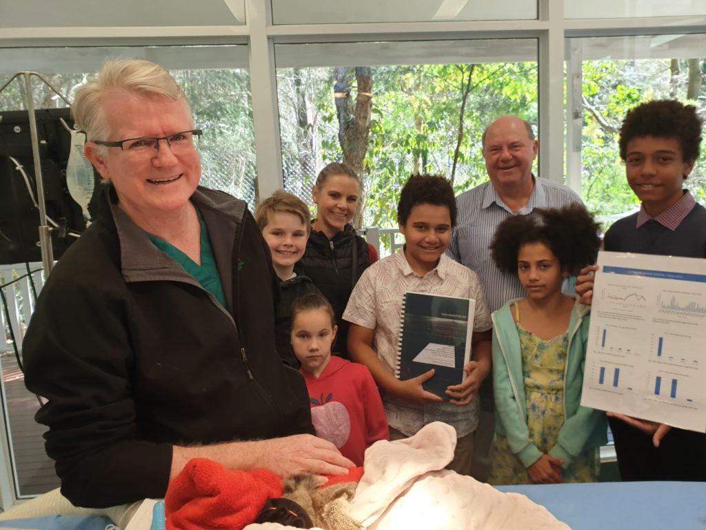 Koala Rescue Report Presentation with Michael Pyne, Senior Veterinarian